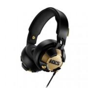 Слушалки Philips HX5, микрофон, динамични LED светлини, 40 мм неодимови мембрани, черен/златист
