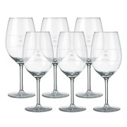 YourSurprise Rood wijnglas - set van 6