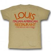 tricou cu tematică de film bărbați Kmotr - Louis Restaurant - AMERICAN CLASSICS - GF5117