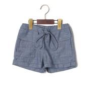 【64%OFF】ドローコードウエスト ポケット ショートパンツ インディゴ 12m ベビー用品 > 衣服~~ベビー服