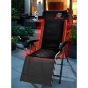 Outchair Polsterauflage Seat Cover, universell einsetzbar, beheizbare Sitzauflage, 120 x 40 cm, schwarz