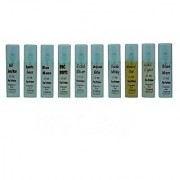Fragrance and Fashion Pen Perfume Pack of 10 Different EDT 15ml each(150ml Men Women)