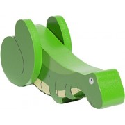 Shumee Wooden Pull-along Grasshopper Toy - Green (1 year+) - Exploration Playmate