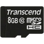 Transcend 8 GB MicroSD Card Class 10 20 MB/S Memory Card