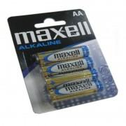 Alkáli Elemek Maxell 1.5V AA PK4 AA 1,5 V