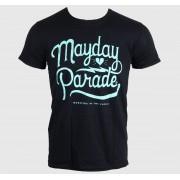 tricou stil metal bărbați Mayday Parade - SCRIPT -BLACK - LIVE NATION - PE11706TSBP