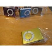 Mini MP3 přehrávač - žlutý