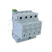Descarcator de supratensiuni,AC,cl.2,elem.modular inlocuibil TTV2-60-4P 230/400 V, 50 Hz, 30/60 kA (8/20 us), 4P