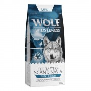 2kg MIX Canada e Scandinavia Wolf of Wilderness Mini Croquetes