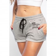 Short Feminino de Moletinho Powerfull Girls