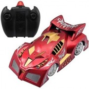 Awesome Creative Red Wall Climbing Remote Car