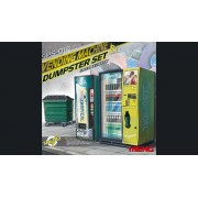 MENG Vending Machine & Dumpster Set 1:35