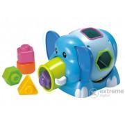 Miniland, elefant pentru bebeluși, selector de forme (ML-97205)