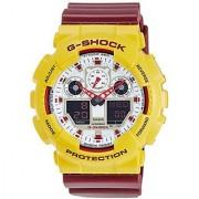 G-Shock Analog-Digital White Dial Mens Watch - Ga-100Cs-9Adr (G534)