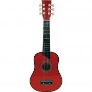 Chitara lemn 62 cm rosie