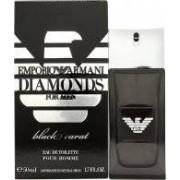 Giorgio Armani Emporio Diamonds Black Carat for Men Eau de Toilette 50ml Vaporizador