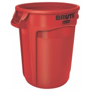 Rubbermaid Ronde Brute container 121,1 ltr, Rood (VB002632R)