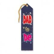 "Dad To Be Award Ribbon 2"" x 8"" Party Accessory"
