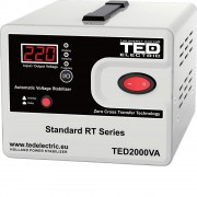 Stabilizator de retea maxim 2000VA / 1200W Ted 2000 (TED ELECTRIC)