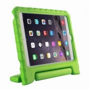 Javu - iPad Mini 4 Hoes - Kids Cover Worker voor Kinderen Groen