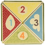 Skip Hop Giraffe Safari Fold and Play Book, 12 Months Plus