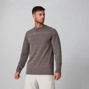 Myprotein Aero Knit Long-Sleeve T-Shirt - Gråbrun - XS