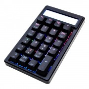 Ducky Pocket Silver Cherry MX RGB Color LED Mechanical Keyboard (DK-DKPO1623ST-PUSPDAAT1)