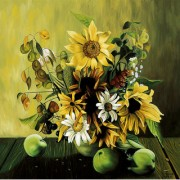 IMFPA Flowers on the table Painting