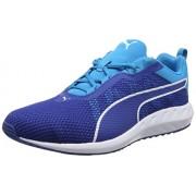 Puma Men's Flare 2 True Blue and Blue Danube Running Shoes - 10 UK/India (44.5 EU)