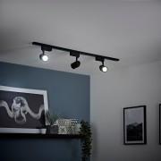HudsonReed Spots LED 7W sur rail - Noir - Choix de tailles - Biard