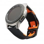 Urban Armor Gear Řemínek pro Samsung Galaxy Watch 46mm - UAG, Civilian Strap Black/Orange