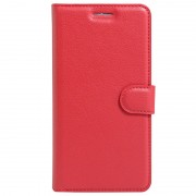 Bolsa Tipo Carteira Texturizada para Huawei Y5II - Vermelho