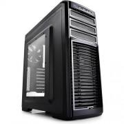 Carcasa Kendomen TI, MiddleTower, Fara sursa, Negru/Gri