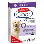 Bob Martin Clear Zgardă antipurici pentru câini - Lungime 35 cm pentru câini mici și pisici