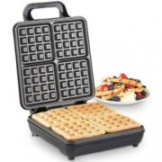Aparat waffle VonShef Quad Belgian Waffle Maker 2013307, 4 Felii, 1100 W, Control Temperatura Automat