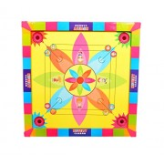 Samaira Sunshine Carrom Board with Ludo 2 in 1 Game (26 x 26 Inches)