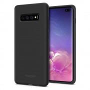 Carcasa Spigen Silicone Fit Samsung Galaxy S10 Plus Black