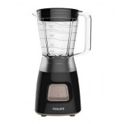Blender Philips Daily Collection HR2052/90, 350 W, 1.25 l, Pulse, Negru