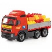 Veliki dečiji kamion sa kockama Volvo Polesie 9739