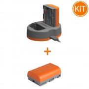 Kit Hahnel Extreme Power cu acumulator HLX-E6N + HLX-E6N Acumulator pentru Canon