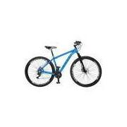 Bicicleta Colli Quadro em Alumínio 21 Marchas Aro 29 Freio a Disco - Kit Shimano Azul