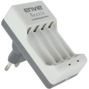 Envie ECR-20 Bettle Camera Battery Charger (White)