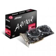 Видео карта AMD Radeon RX 580, 8GB, MSI Radeon RX 580 ARMOR 8G OC, PCI-E, GDDR5, 256 bit, HDMI, DipslayPort, DVI
