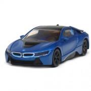 Macheta Rastar BMW I8 Hybrid 2015 Scara 1:43 Albastru