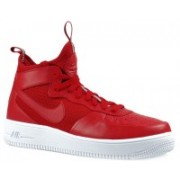 Nike Air Force 1 UltraForce MID Basketball Shoes For Men(Red)