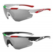 Salice 012 Italian Edition CRX Photochromic Sunglasses - Black/Grey