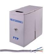 Cablu FTP Cabletech cat 5e 305m retail Alb