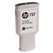 Мастилена касета HP 727 300-ml Matte Black Designjet Ink Cartridge, C1Q12A