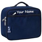 Personalized Wildkin Whale Blue Lunch Box