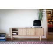 PIB Meuble TV à rideaux Ritz